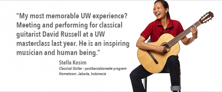 Stella Kosim guitar program quote
