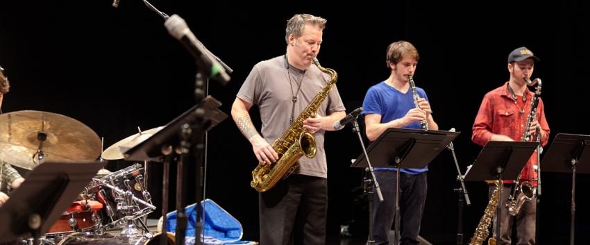 UW Studio Jazz Ensemble: Modern Band (photo: Steve Korn)