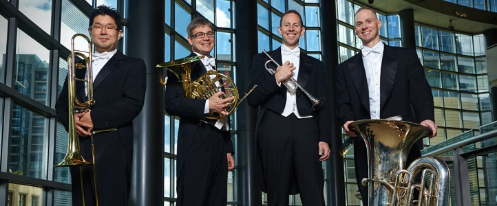 Brass faculty in the Seattle Symphony