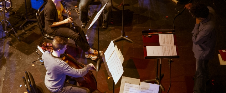 The Talea Ensemble performed works by UW faculty and graduate student composers.