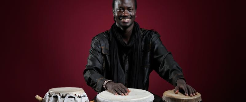Thione Diop Percussion