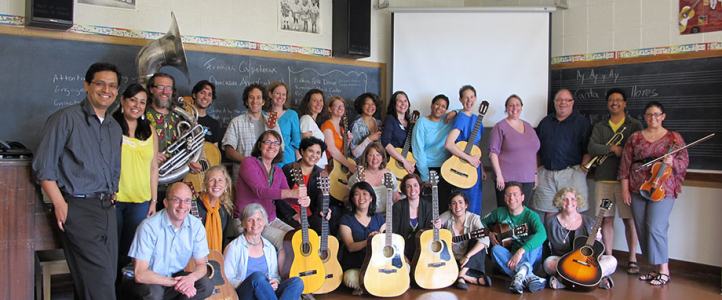 Smithsonian Folkways certificate in World Music Pedagogy