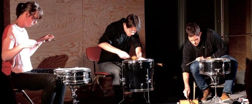 Percussion Trio Meridian (Photo: Courtesy Meridian).