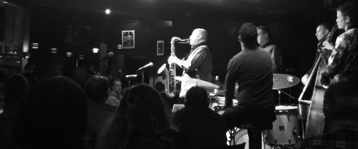 Saxophonist Michael Brockman performed at the closing of Tulas jazz club.