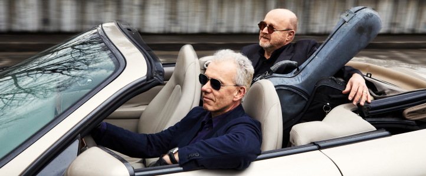 Michael Partington and Michael Brockman (photo: Steve Korn)