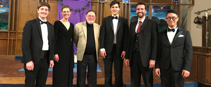 Graduate choral conducting student Elizabeth Cherland recently served as guest conductor of the Vancouver Chamber Choir Photo: Courtesy Elizabeth Cherland).