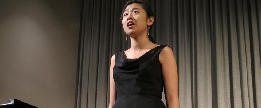 UW Voice students perform quarterly studio recitals.