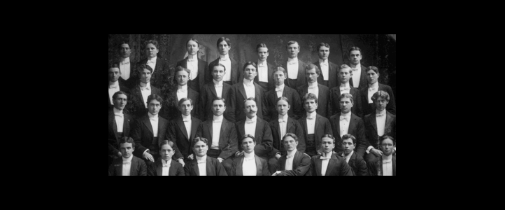 UW Glee Club Vintage photo