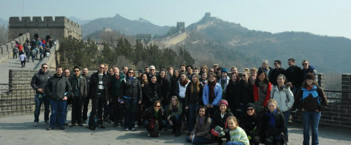 UW Wind Ensemble, Great Wall, China 2013
