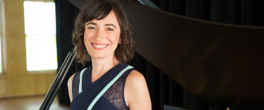 Cristina Valdés, piano