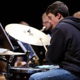 Jazz drummer