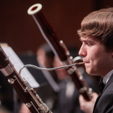 Wind Ensemble bassoonist