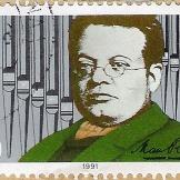 Max Reger stamp
