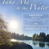 Anna Frisch recital poster image