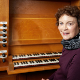 Organ Professor Carole Terry (Photo: Steve Korn)
