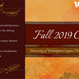 Campus Philharmonia Fall concert flyer