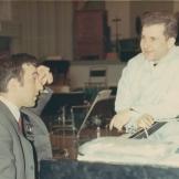 Maestro Erös with Vladimir Ashkenazy, Melbourne, 1969