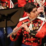 Marine Band flutist