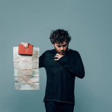 Gabriel Kahane appears at the Meany Center in November 2019.