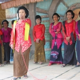 Assistant Professor Christina Sunardi's research includes a focus on cross-gender traditions in east Java.