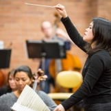 School of Music alumna Julia Tai (image from Seattle Weekly)