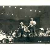 Maestro Erös conducted the great Russian cellist Mstislav Rostropovitch in San Diego, 1979.