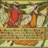 Medieval Christmas image