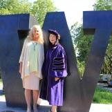 Prof. Patricia Campbell with PhD graduate Michiko Urita.