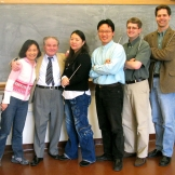 With UW conducting students. June 2005