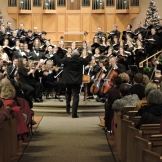 Stephen Stubbs conducts the UW Chambers singers