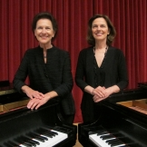 Robin and Rachelle McCabe, piano