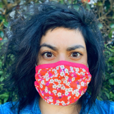 Sarah Kolat has been making masks during the COVID 19 pandemic (Photo: Courtesy Sarah Kolat).