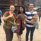 Music Ed students in Katmandu, Nepal.
