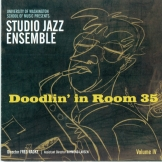 Studio Jazz Ensemble CD cover art