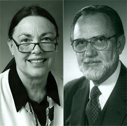 Barbara Lundquist and James Carlsen