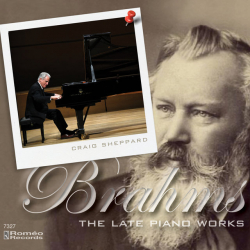 Craig Sheppard: Brahms CD cover