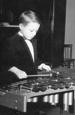 Tom Collier was aged 5 when he made his first public musical appearance.