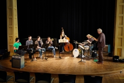 Bill Frisell with jazz band