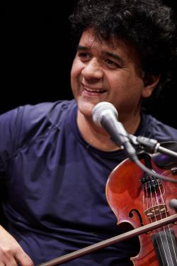 Ganesh Rajagopolan, Ethnomusicology Visiting Artist (Photo: Steve Korn).
