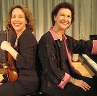 Maria Larionoff and Robin McCabe