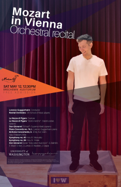 Lorenzo Guggenheim recital poster