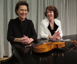 Robin McCabe and Maria Larionoff