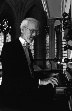 Robert Parkins, university organist at Duke University, performs on the UW's Littlefield Organ Series.