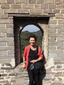 Robin McCabe in Beijing