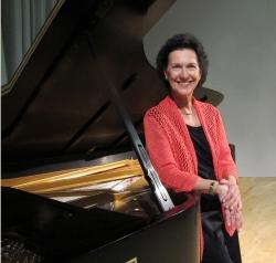 Piano Professor Robin McCabe (Photo: Joanne DePue)