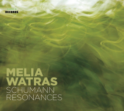 Melia Watras Schumann Resonances CD cover