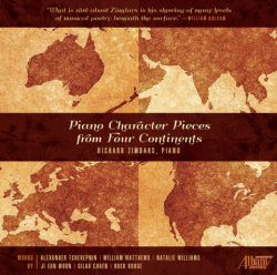 Piano Character Pieces from Four Continents