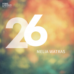 Melia Watras: 26 album cover