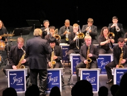 Fred Radke directs the UW Studio Jazz Ensemble.