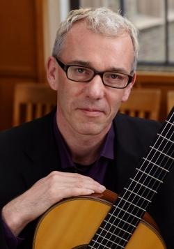 Michael Partington, head of the UW's guitar program (Photo: Steve Korn)